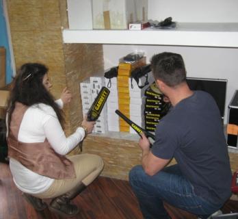 detector de metale securitate